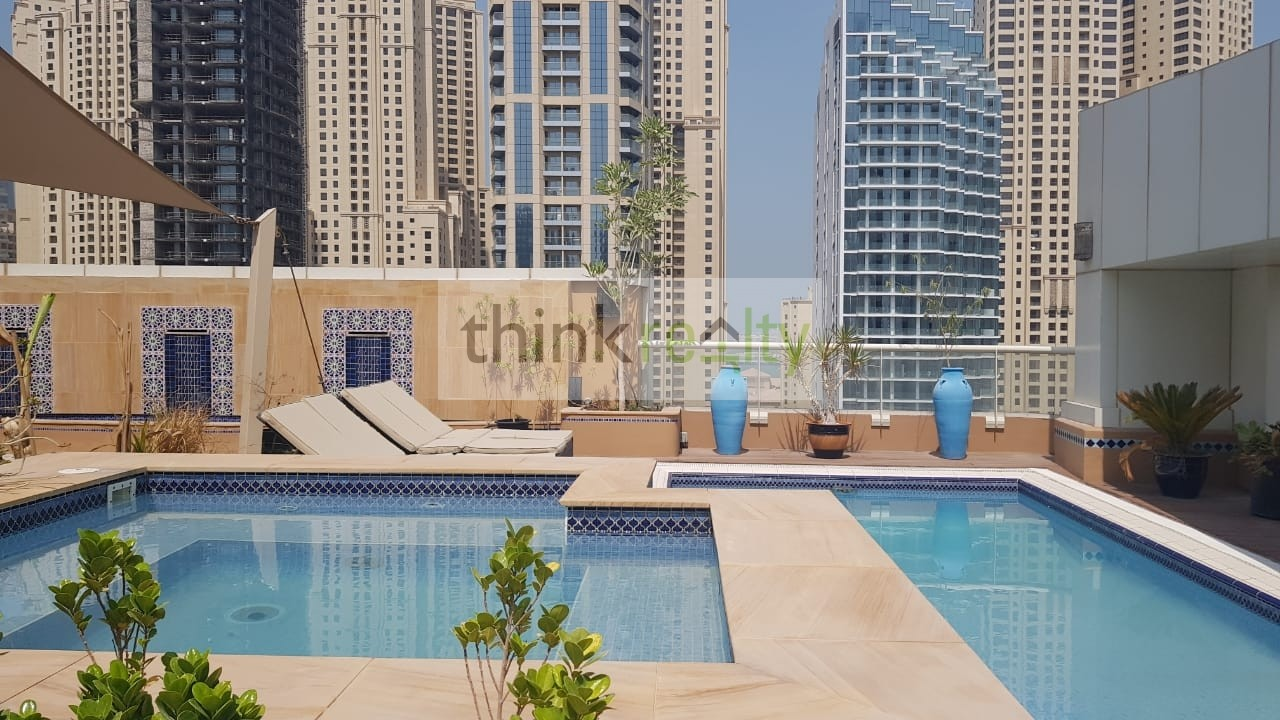 Lowest ,Penthouse for AED 600per sq. ft. Dubai Marina