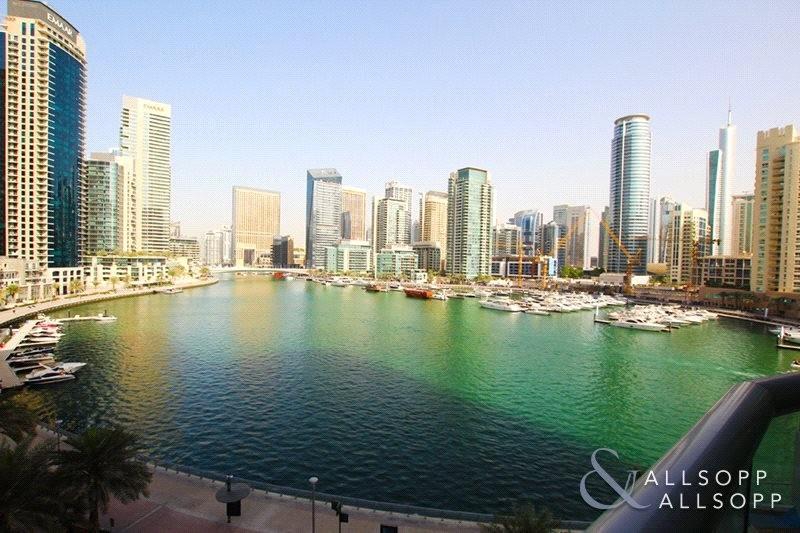 Full Open Marina Views | Balcony | 1 Bed