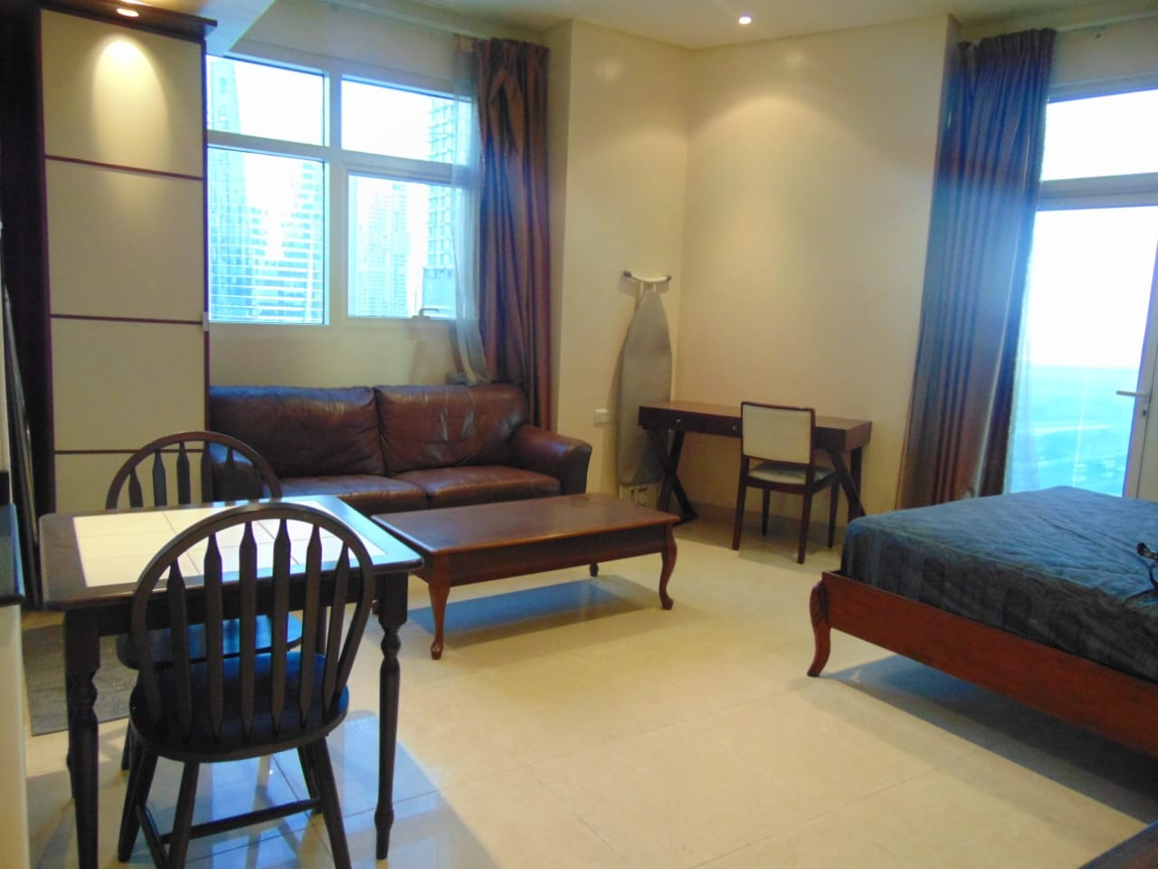 Cheapest Full Furnished Studio with Balcony very close to metro station