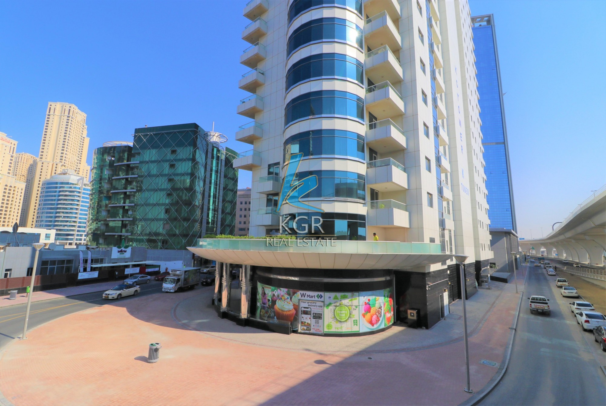 3 Combined Units Spacious Retail Space in KG Tower.