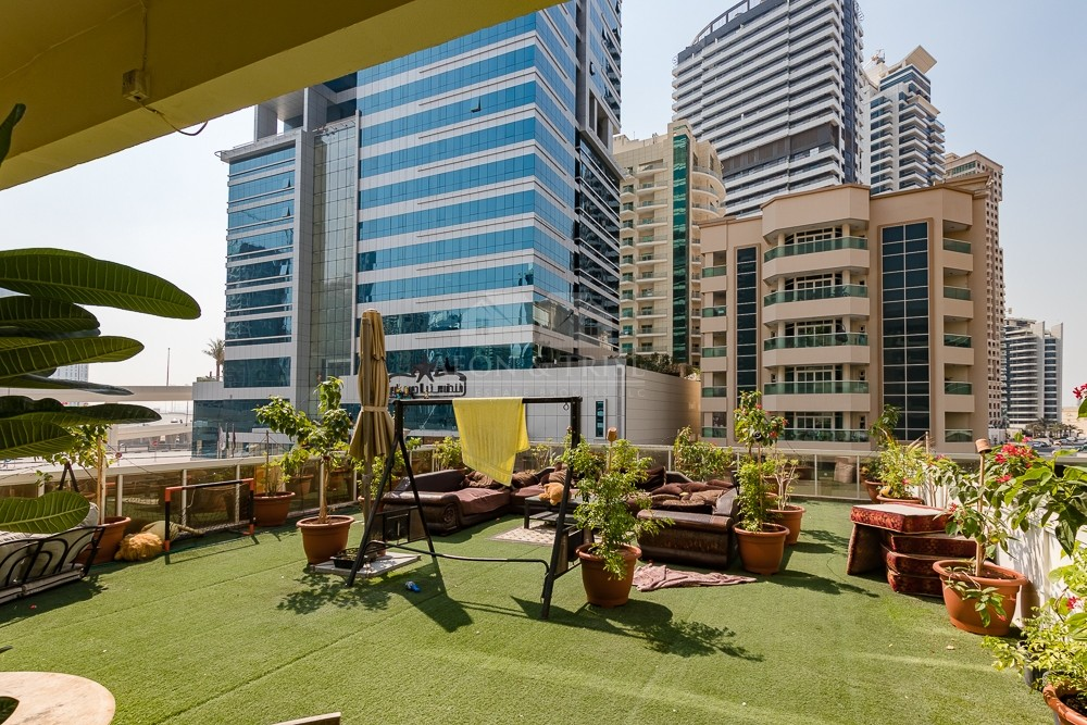 Spacious Terrace Apartment I Lower Floor I Rented unit I Must See