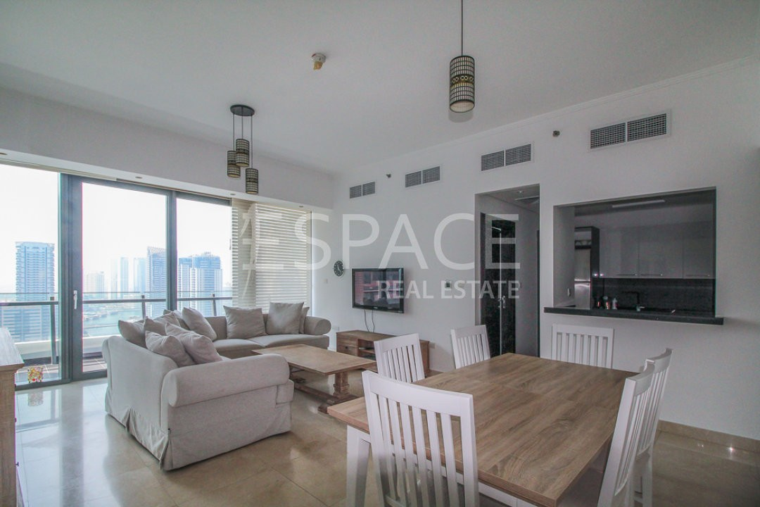 3 Bed | Marina View | Vacant | Furnished