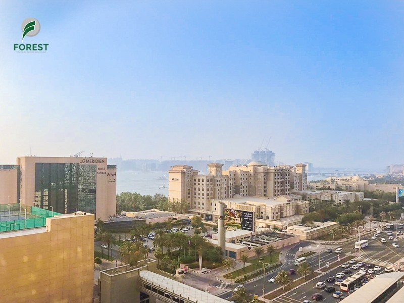 Full Sea View Furnished   Well-Maintained  1BR