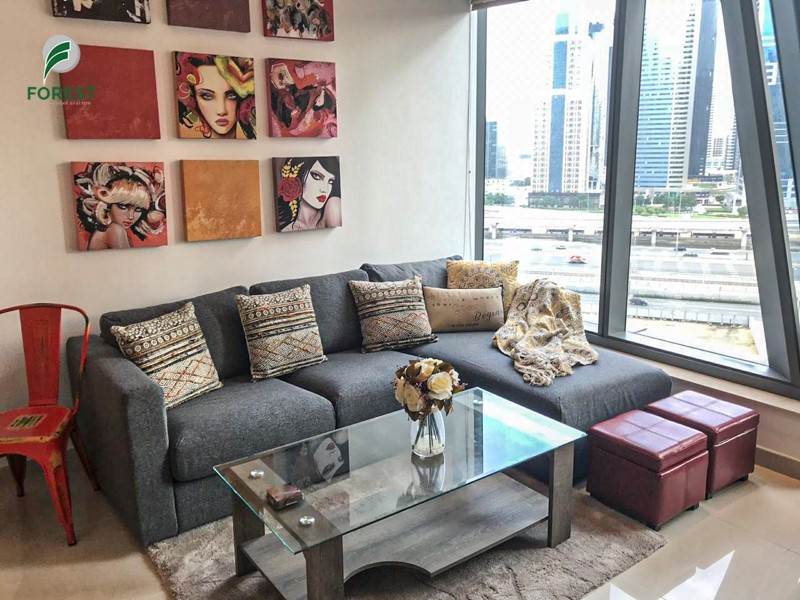 New  Furnished 1BR with Pool View  Vacant