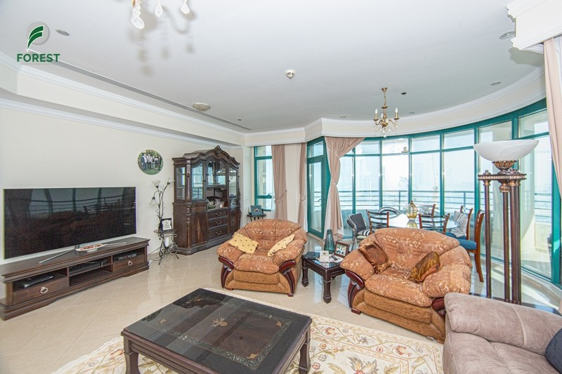 Full Sea View  Unfurnished  3BR  High Floor