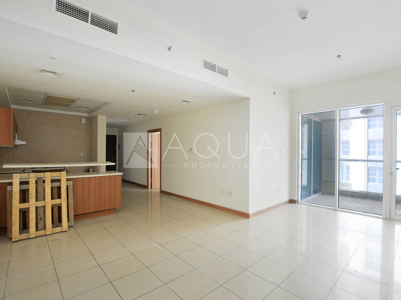 Spacious 1 Bed in Sulafa Tower | Unfurnished