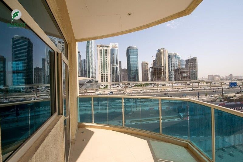 Fully Furnished Mid Floor with Balcony Next to metro