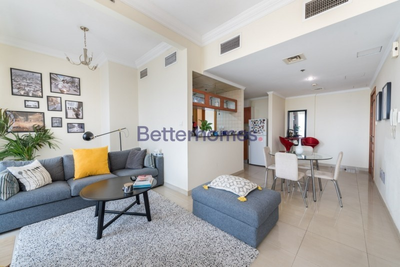 Two Bed|Balcony|Marina View|Higher Floor