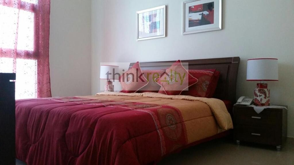 Premium  Furnished one Bedroom, DEC Tower  Marina, higher floor, partial sea view, AED 80,000/-