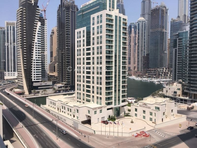 Exclusive - Fully Furnished - Marina & Sheikh Zayed Road View