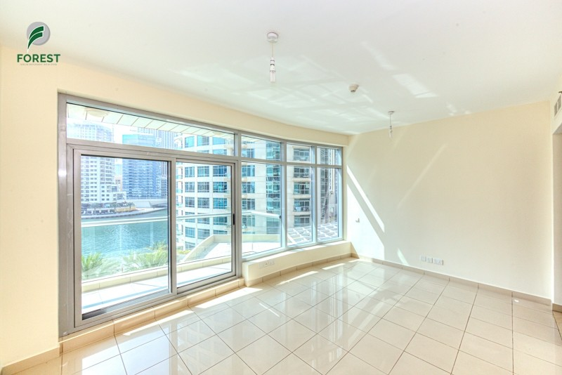 1 BR with Full Marina View| Low Floor| Unfurnished