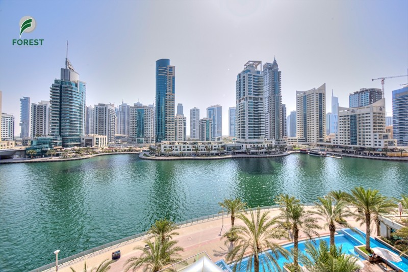 1 BR with Full Marina View  Low Floor  Unfurnished