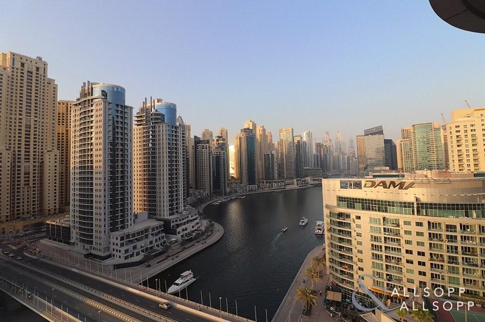 Full Marina Views   2 Bed   Higher Floor