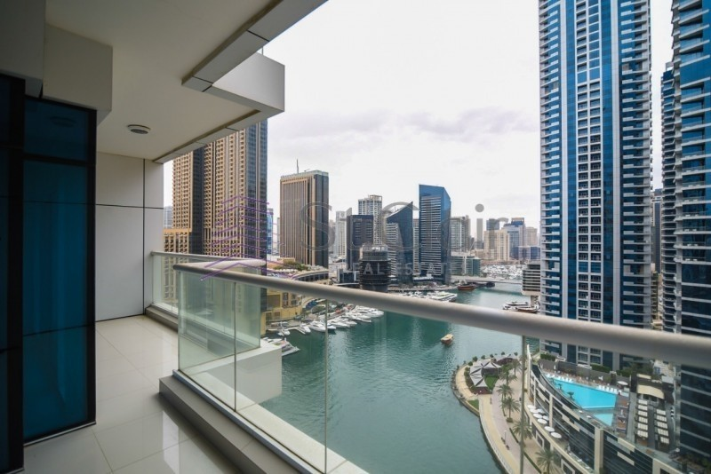 2 Bedrooms with Full Marina View|High Floor