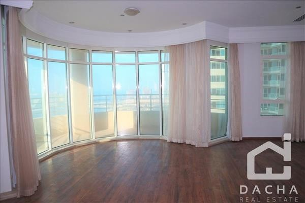 Full Sea View 3Br Marina Crown Chiller free
