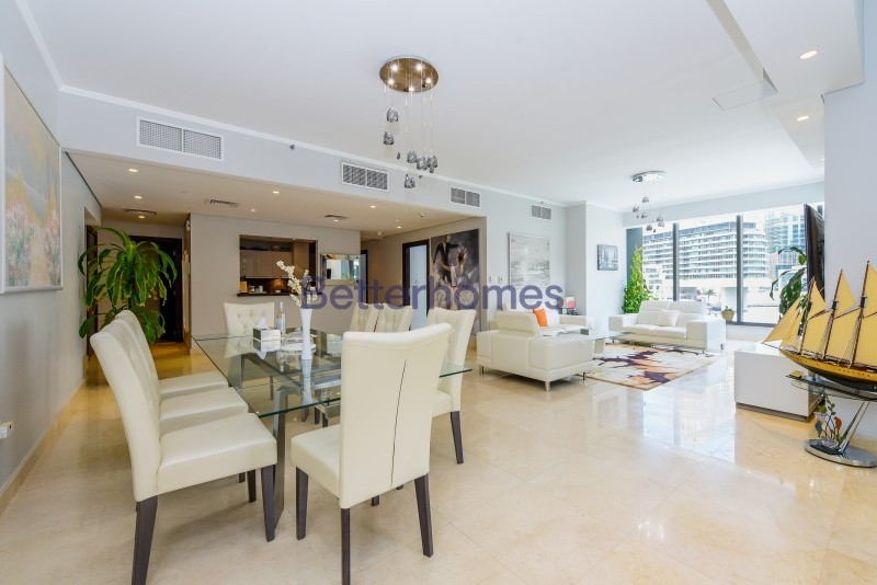Astonishing 4 Bedroom Unit | Full Marina View
