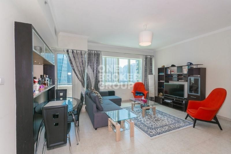 Furnished 2 BR + Study | Partial Marina View