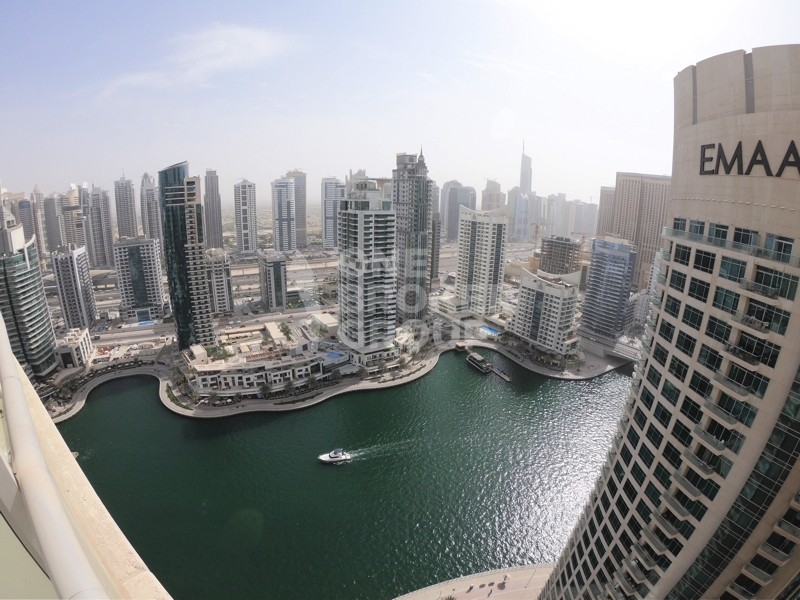 Furnished 2BR w/ Amazing Marina + Sea View.