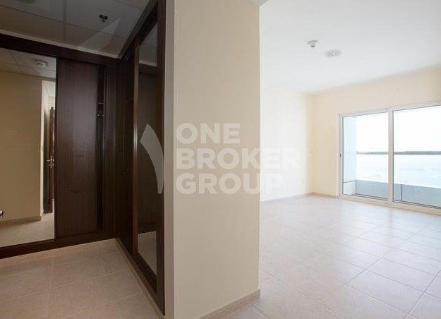 Full Sea and Dubai Eye View | 1Bed | Rented