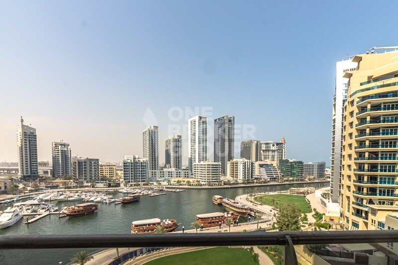 Full Marina view|Mid floor| Close to Metro Tram