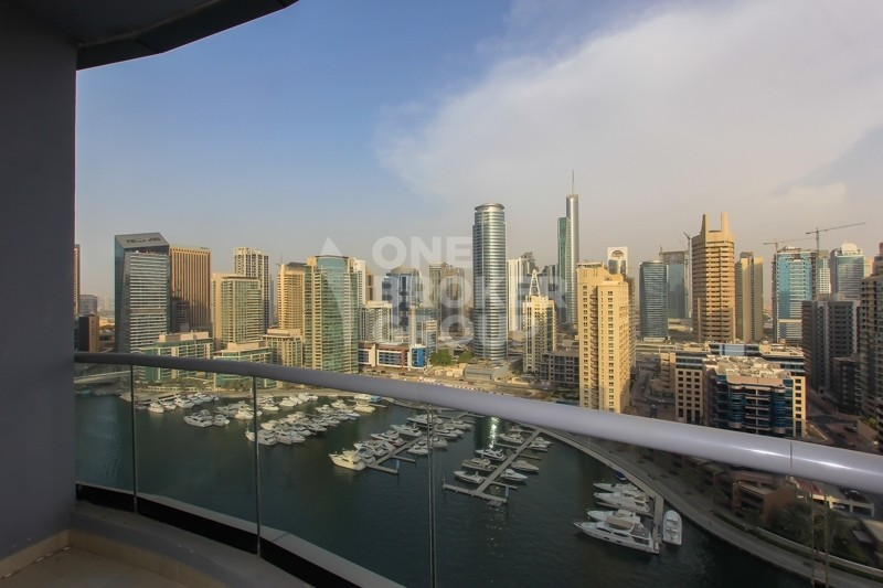 Marina View, 3 BR on High floor for SALE.