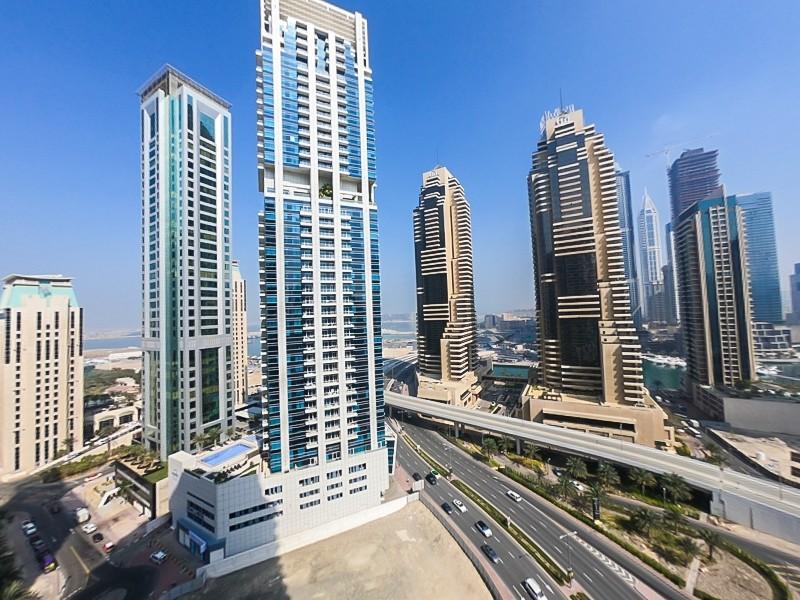 Spacious 2 BR on High Floor Amazing View