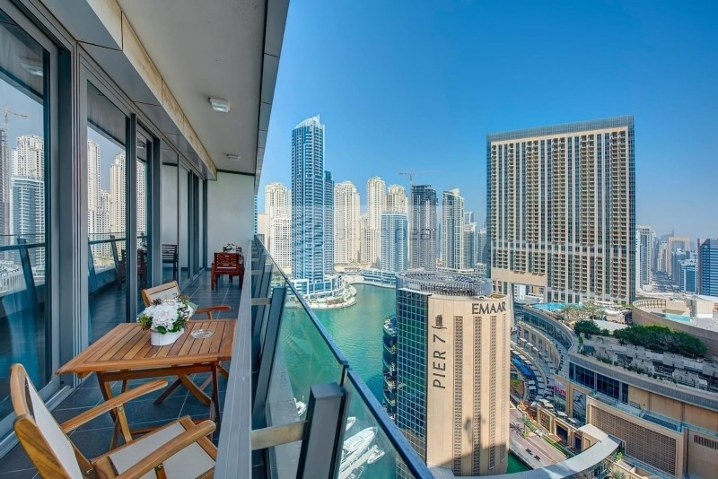 Good Return | 2BR with Balcony | Marina View