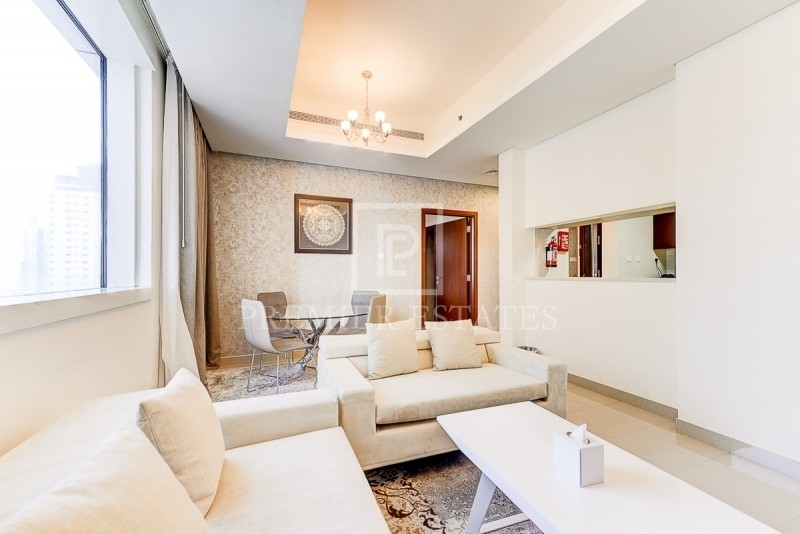 Beautifully Furnished Hotel Apt|Chiller Included
