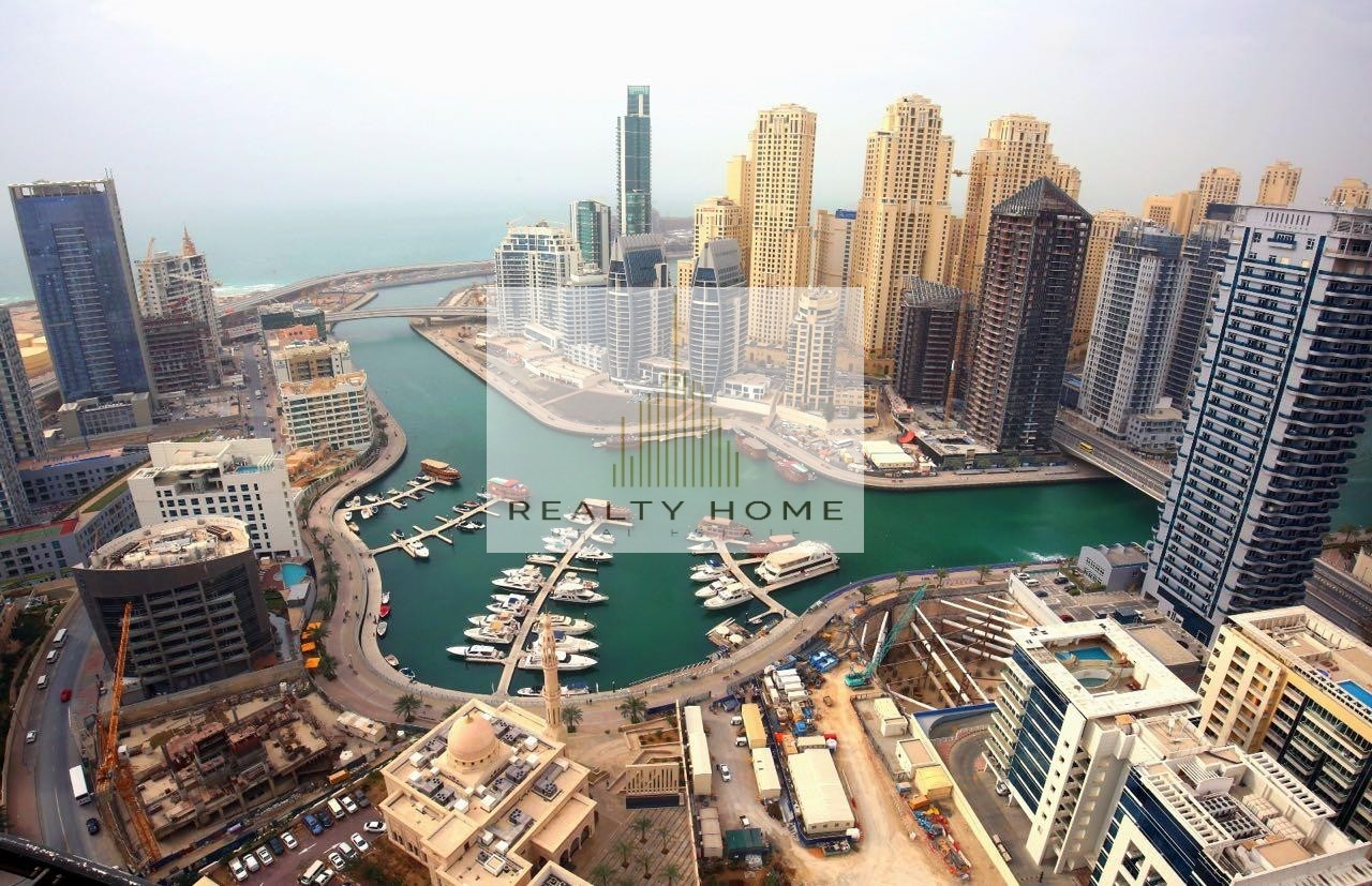 1BR apartment with magnificent view of Dubai Marina