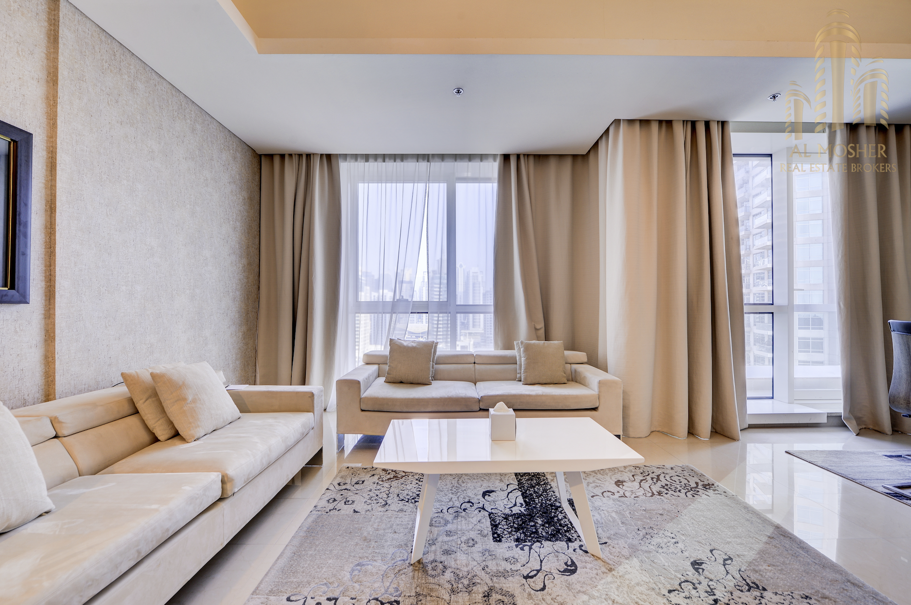 Furnished 2 Bedroom | Marina View | Fully Serviced