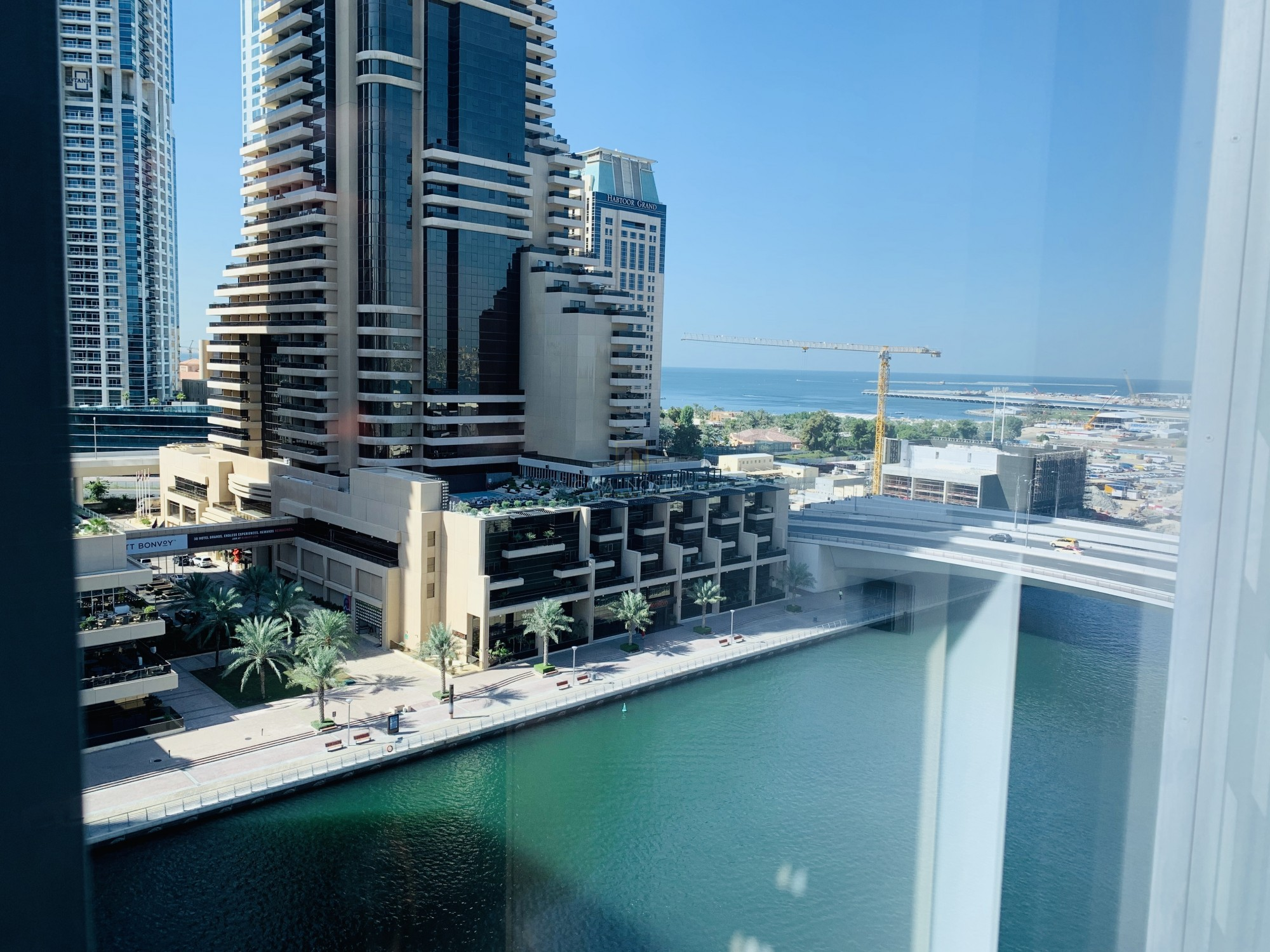 Marina view Vacant 1BR with Balcony I Chiller Free