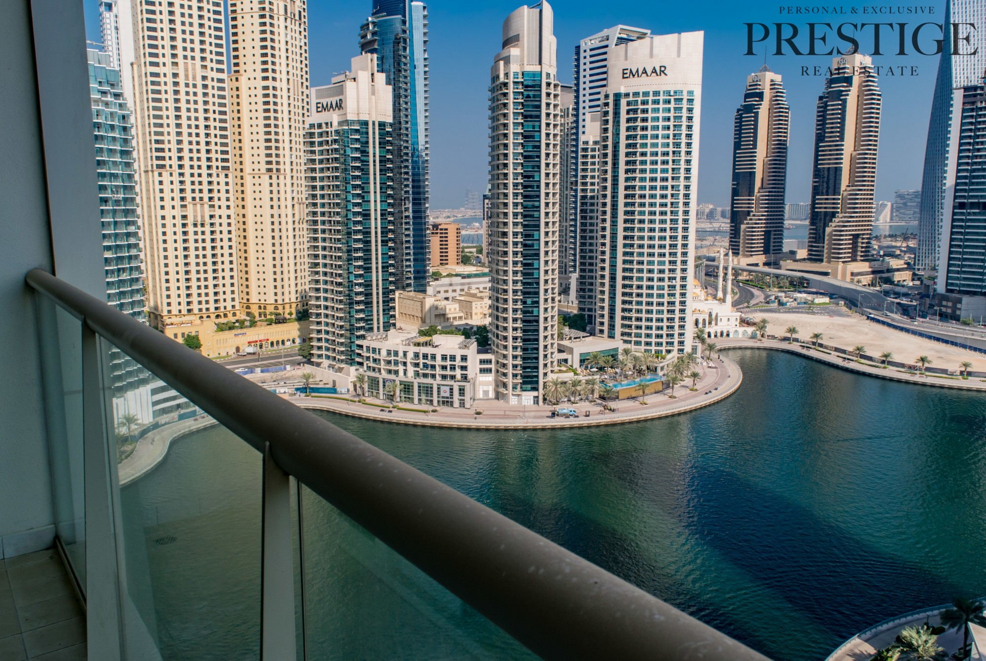 Furnished 1 Bed with Marina View for Rent
