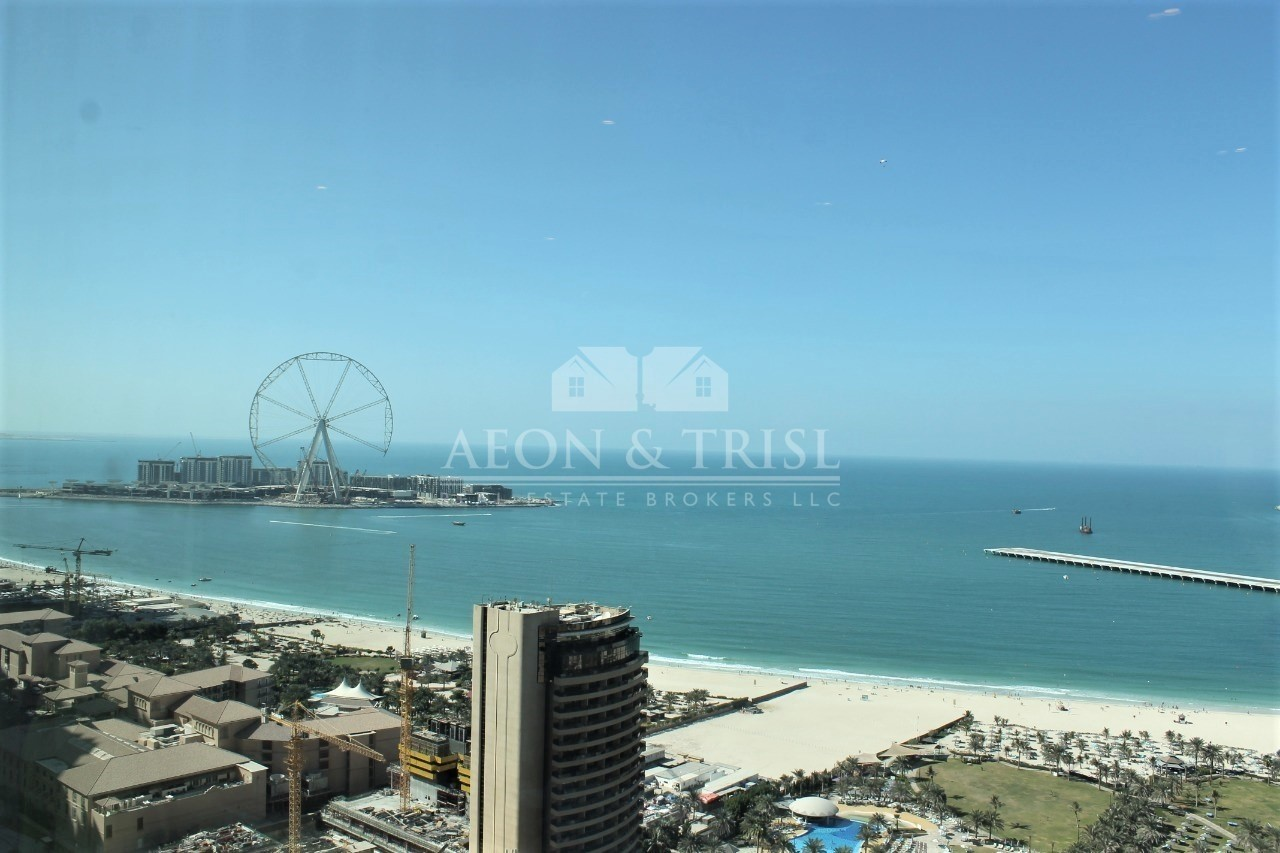 Lowest Price, 4 Bed plus maids | Full Sea View |