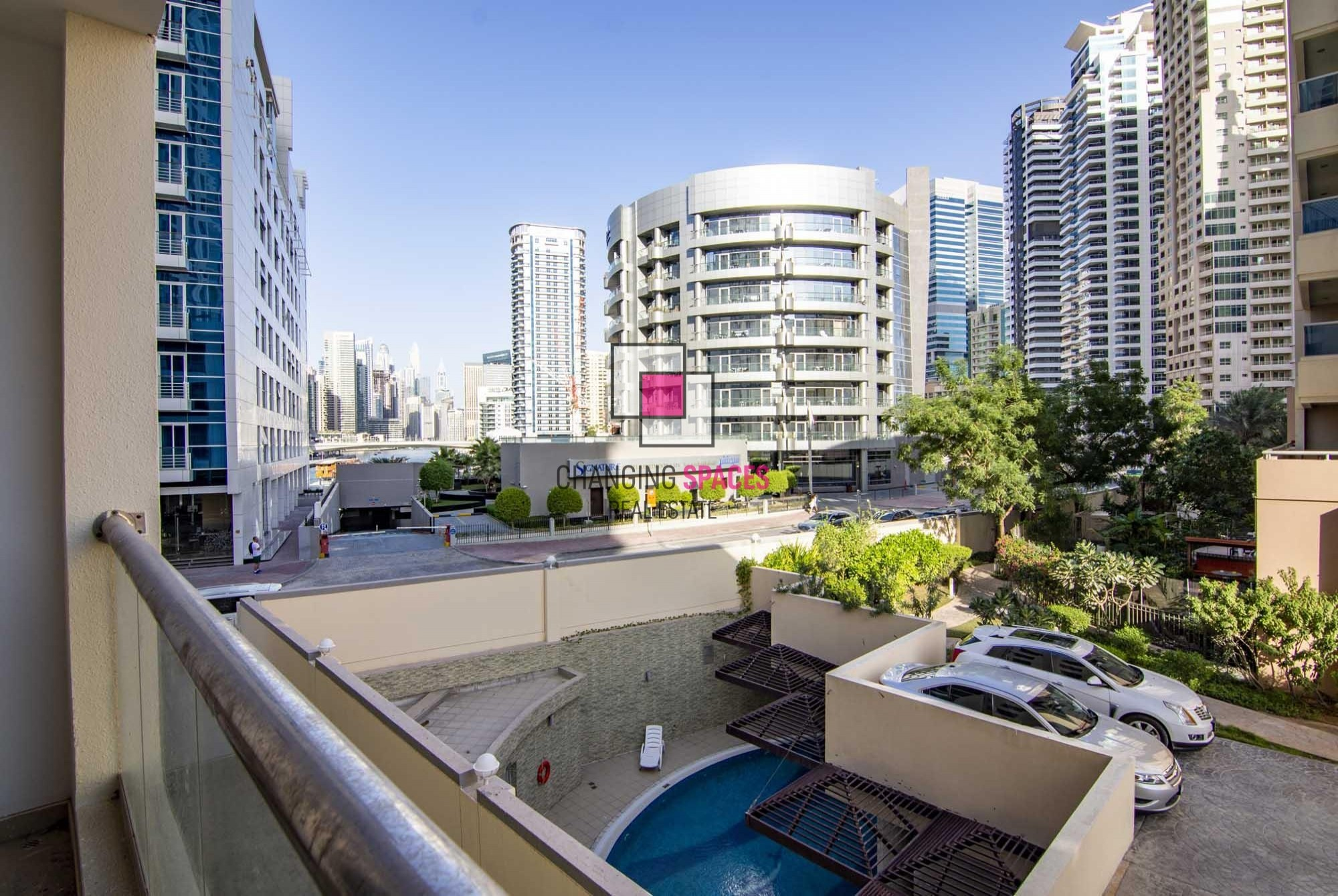 Exclusive -  Vacant  - Furnished - Marina View