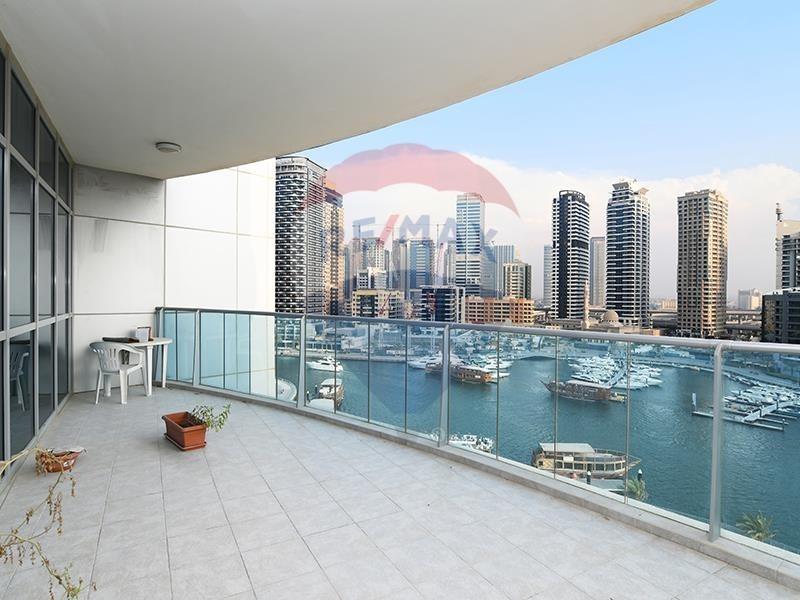 Large 3 BR+ Maids + Study | Stunning Marina Views