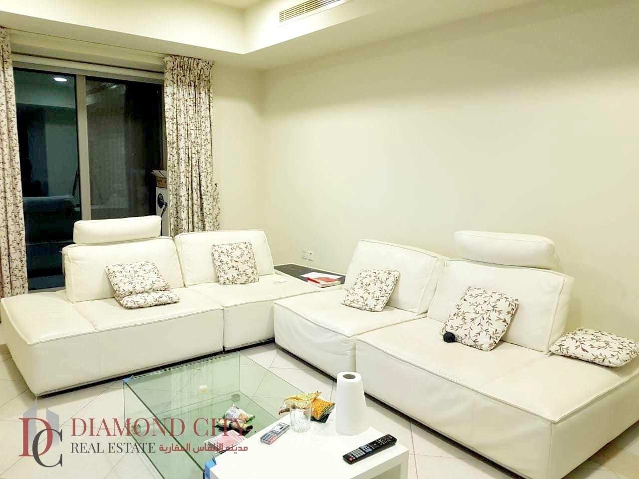 impeccable furnished |large balcony |Brighter