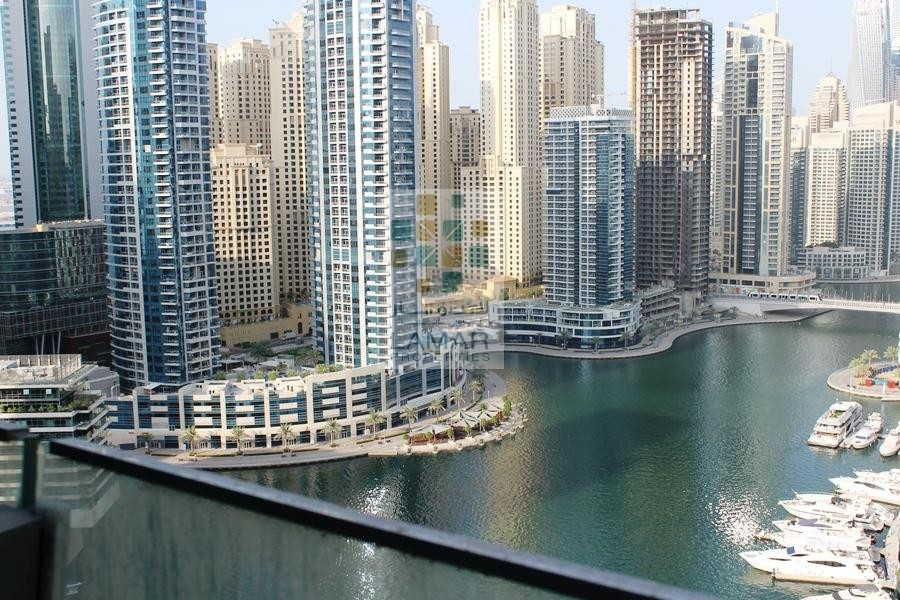 Amazing Full Marina View /High Floor /Vacant unit