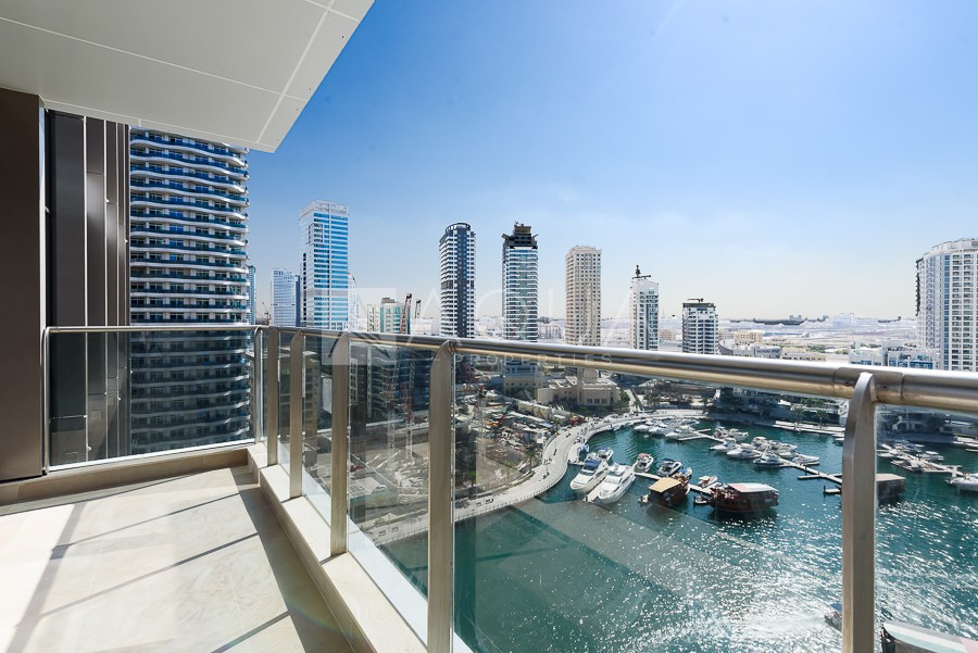 Full Marina View | 1 Bedroom | Move in ready