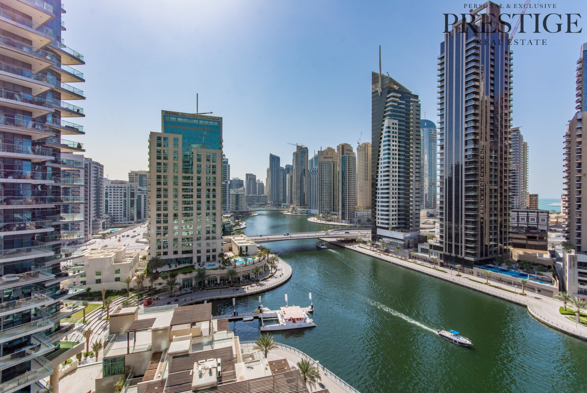 Exclusive  Marina View   2 bed + Maids   Vacant