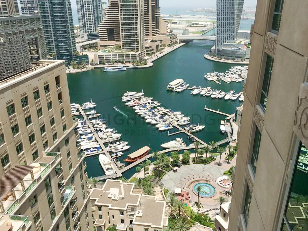 Spacious 1Bedroom + Study High-Floor MESK Dubai Marina