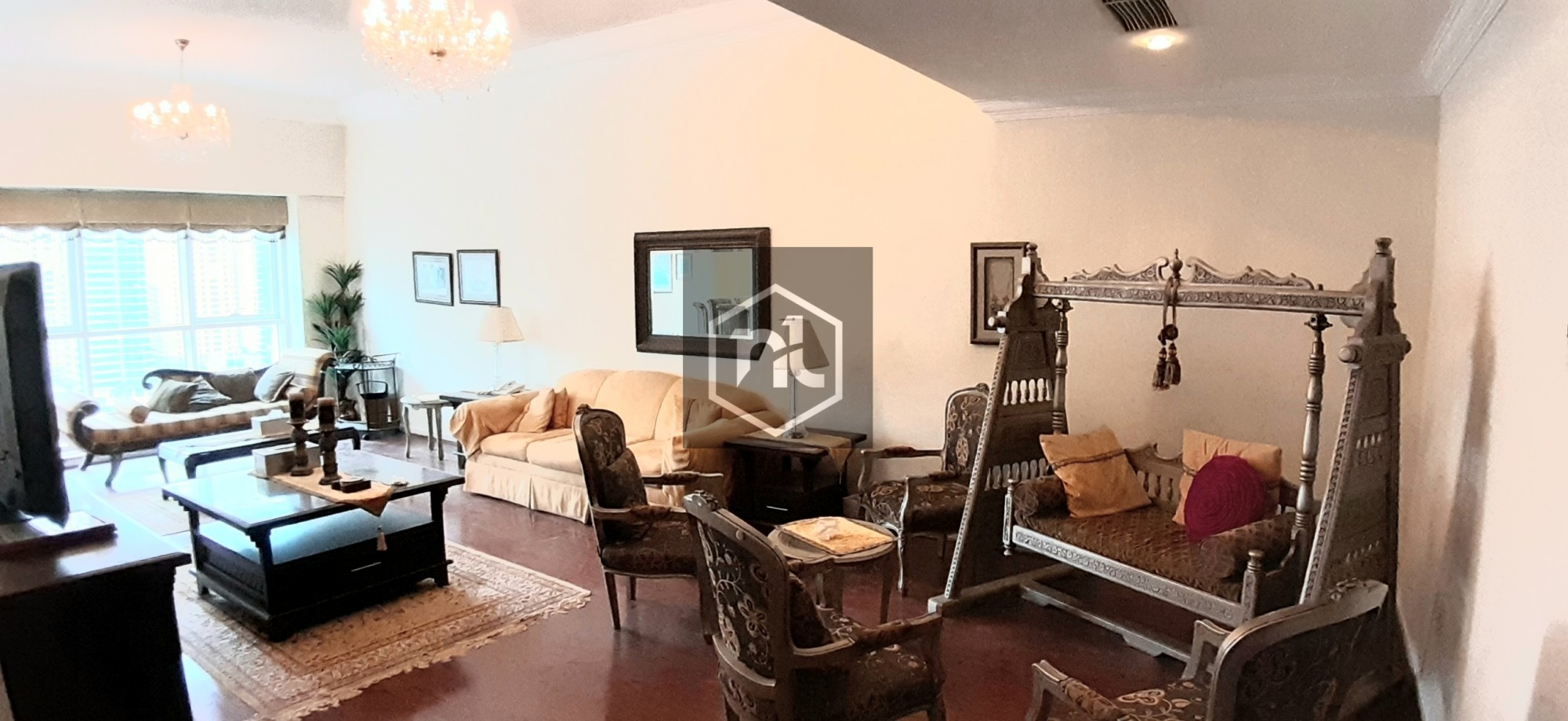 AS PRETTY AS IN PICTURES. . . FURNISHED THREE BR WITH LAKE VIEW