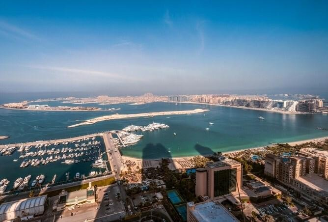 2 Bedroom for rent in Dubai Marina Full Sea View High Floor