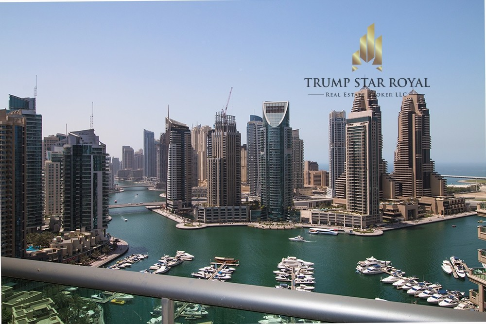 Full Marina 1Br+S in EMAAR Six Towers