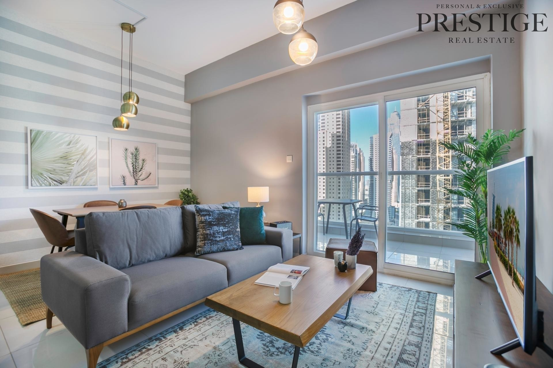 Beautifully Finished 1 Bed with Marina view