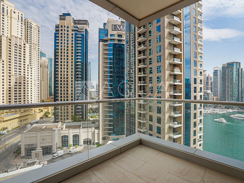 Marina Views | Huge Balcony | Spacious Unit