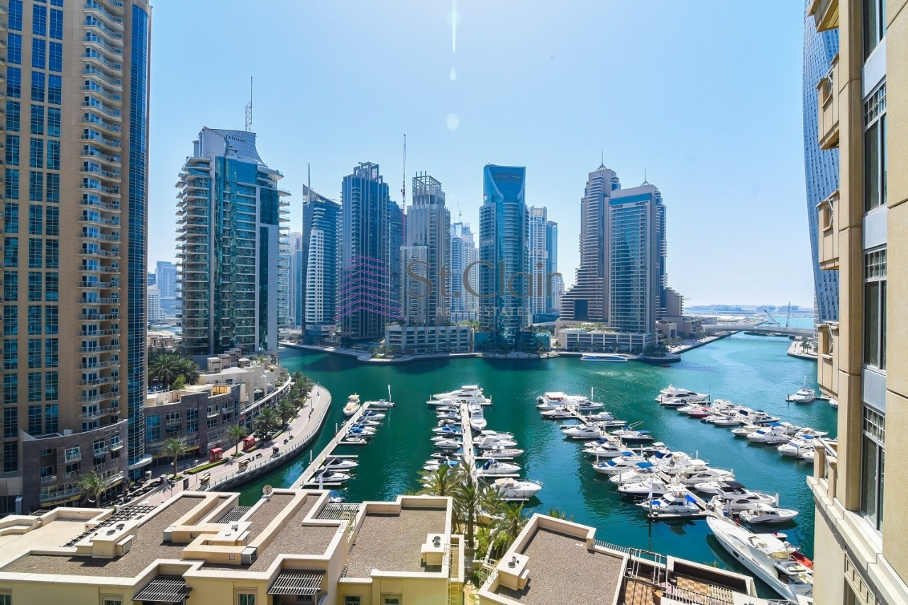 Al Anbar  3BR Panoramic Full Marina views