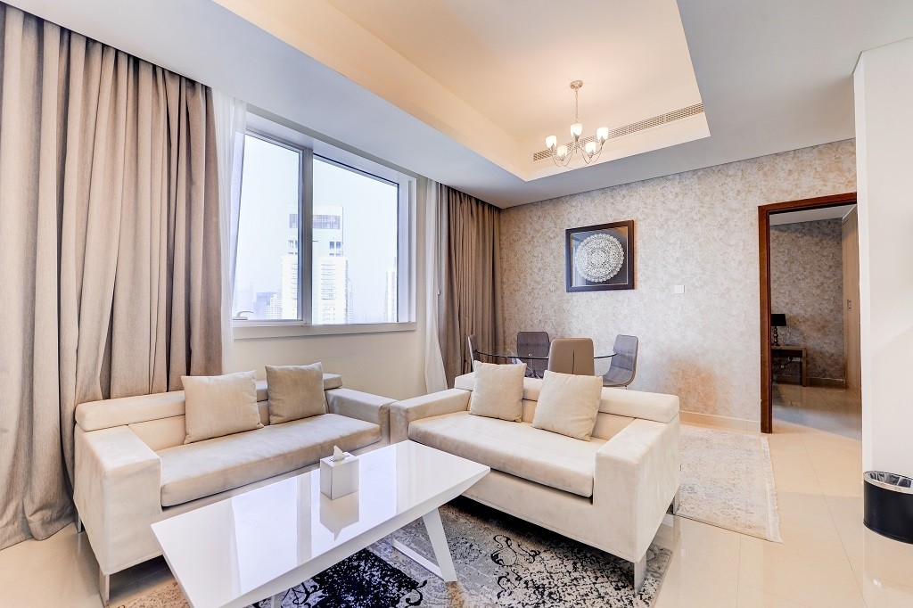 Spacious 1 BR | Furnished Interior | Luxurious