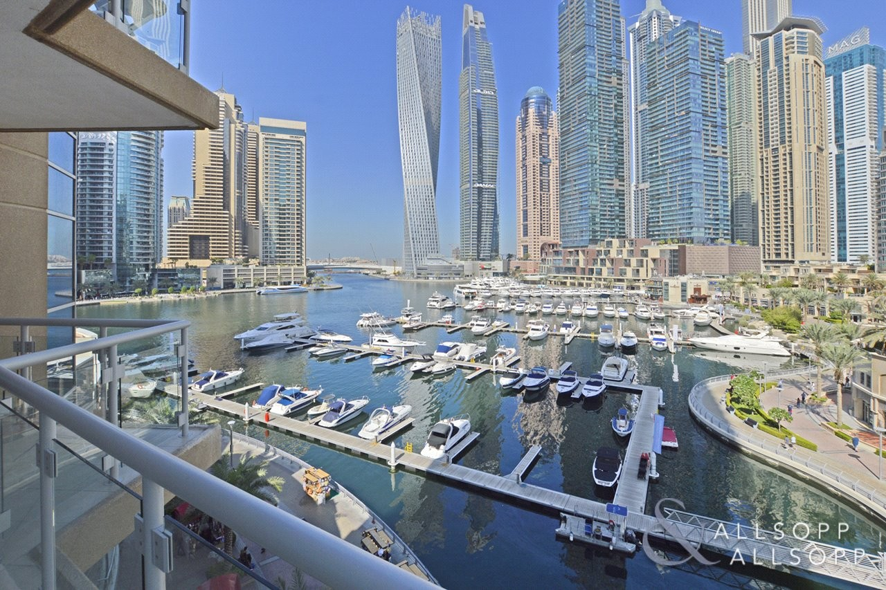 3 Bed | Full Marina Views | Large Layout