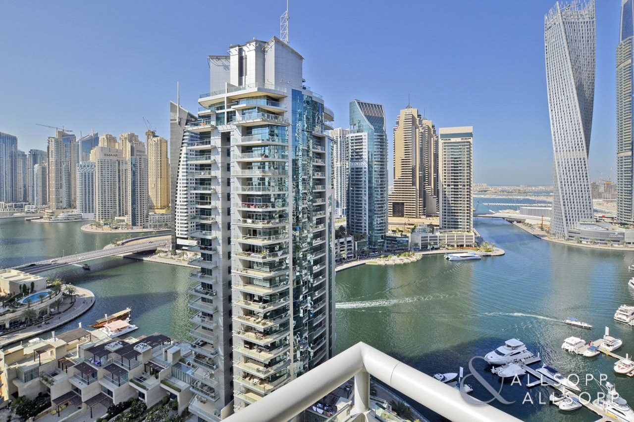 2 Beds | Full Marina Views | Unfurnished