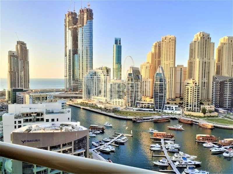 Marina, sea view, close to marina walk, metro